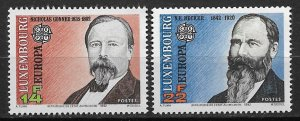 1992 Luxembourg 868-9 Europa/Emigrants to US MNH C/S of 2