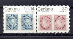 Canada 754-755 used
