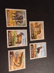 Angola sc 362-366 MNH