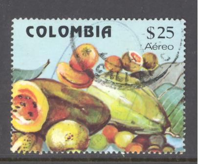 Colombia Sc # C711b used (DT)