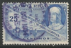 COSTA RICA C213 VFU COLUMBUS K269-6