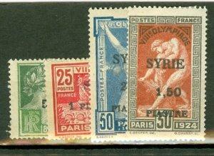 B: Syria 133-6 mint CV $120