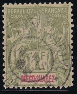 Diego Suarez 1892 SC 37 Used