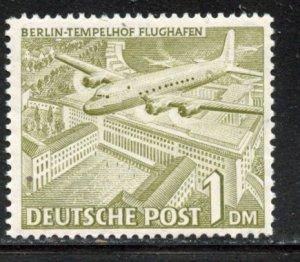 Berlin # 9N57, Mint Hinge. CV $ 5.50