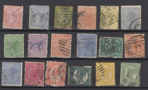 Queensland QV Collection Of 18 Fine Used JK6333