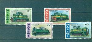 Malawi - Sc# 289-92. 1976 Locomotives, Trains. MNH. $6.25.
