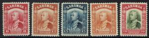 SARAWAK 1934 RAJA BROOKE RANGE TO 20C