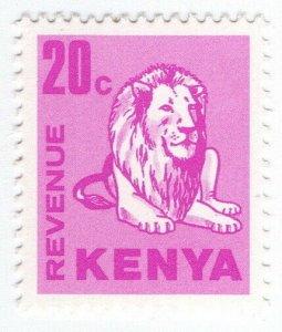 (I.B) KUT Revenue : Kenya Duty 20c (lion)