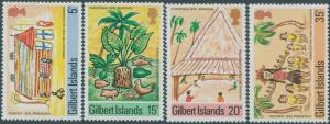 Gilbert Islands 1976 SG39-42 Christmas set MNH