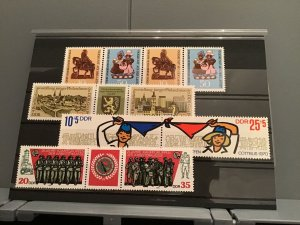 German DDR 1970's mint never hinged Stamps R23100