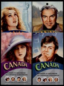 Canada 2154e Booklets MNH Canadians in Hollywood, Candy, Pickford, Greene, Wray