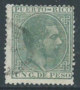 Puerto Rico, Sc #63, 1c Used
