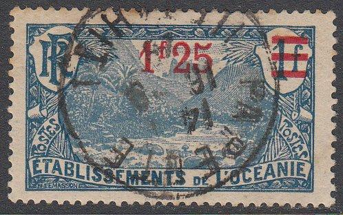 French Polynesia 67 Used CV $1.20