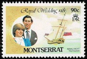 Montserrat 1981 Royal Wedding MNH