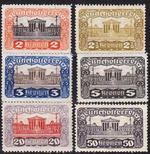 ÖSTERREICH AUSTRIA [1919] MiNr 0284 ex ( */mh ) [01]