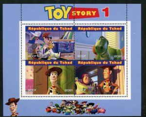 Chad 2021 'Toy Story 1' sheet mint nh
