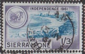Sierra Leone Sc#216 Used