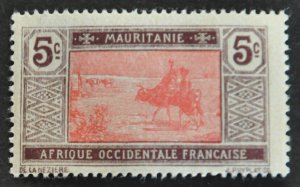 DYNAMITE Stamps: Mauritania Scott #21 – MINT hr