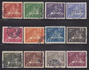 Sweden 213-228 VF-XF-used set ! cv $ 856 ! see pic !