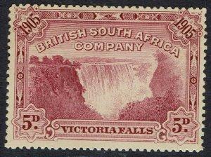 RHODESIA 1905 VICTORIA FALLS 5D PERF 14.5-15