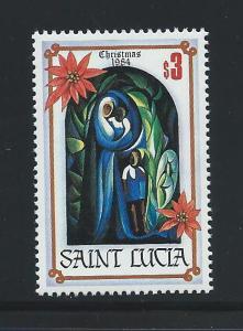 St. Lucia #705 MNH Single 1984 Christmas