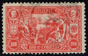 Brazil #190 Peace Between Brazil and Portugal; Used (1.50) (2Stars)