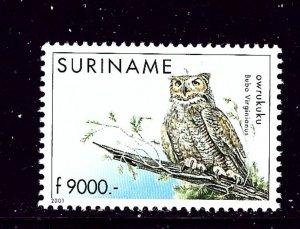 Surinam 1254 MNH 2001 Owl
