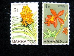 BARBADOS - SCOTT#399,408b - MNH - CAT VAL $ 14.50