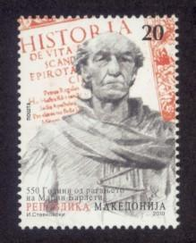 Macedonia Sc# 542 MNH Marin Barleti