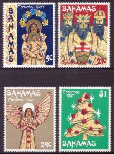 Bahamas 1980 Christmas Set of 4 SG573-576 MNH
