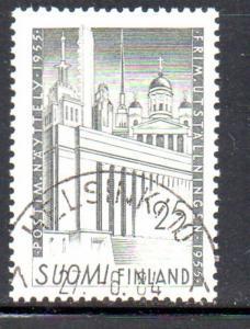 Finland Sc 325 1955 Philatelic Exhibition stamp used