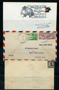 US POSTAL HISTORY OF STATE OF MONTANA LOT OF 36 COVERS 1910-1991 AS SHOWN