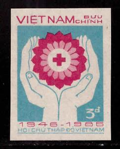 Unified Viet Nam Scott 1685 Perforated  Red Cross stamp NGAI