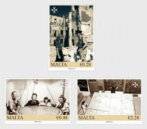 H01 Malta 2019 Malta At War - The Map Plotters 2019 MNH Postfrisch