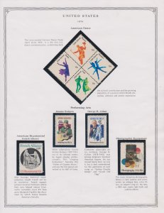Americas Postage Stamps