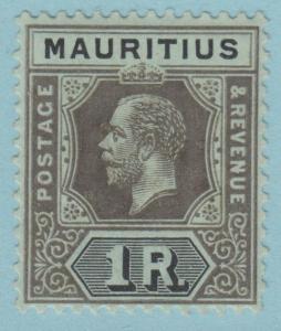 Mauritius 196a Mint Hinged OG * - No Faults Very Fine!