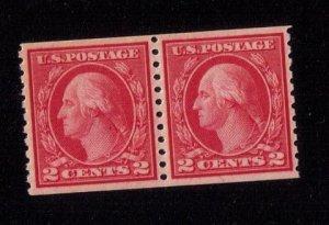 #492 Mint Type III Pair XF/Superb OG NH Cat.$45.00