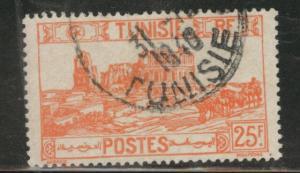 Tunis Tunisia Scott 206 used 1946 stamp