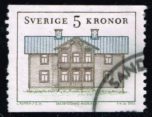 Sweden #2459 Medalpad House; used (1.40)
