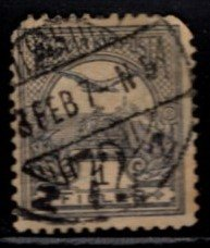 Hungary - #47 Turel and Crown of St. Steven - Used