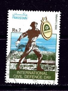 Pakistan 744 Used 1991 issue