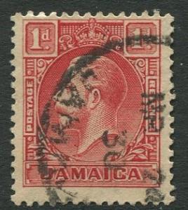 Jamaica -Scott 103 - KGV Pictorial Definitive -1932 - Used - Single 1p Stamp