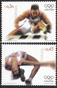 Portugal 2669-2670 MNH - Summer Olympic Games 2004 - Athens, Greece