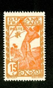 French Guiana Archer (Scott #115) MNH