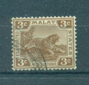 Malaya sc# 55 (1) used cat value $.50