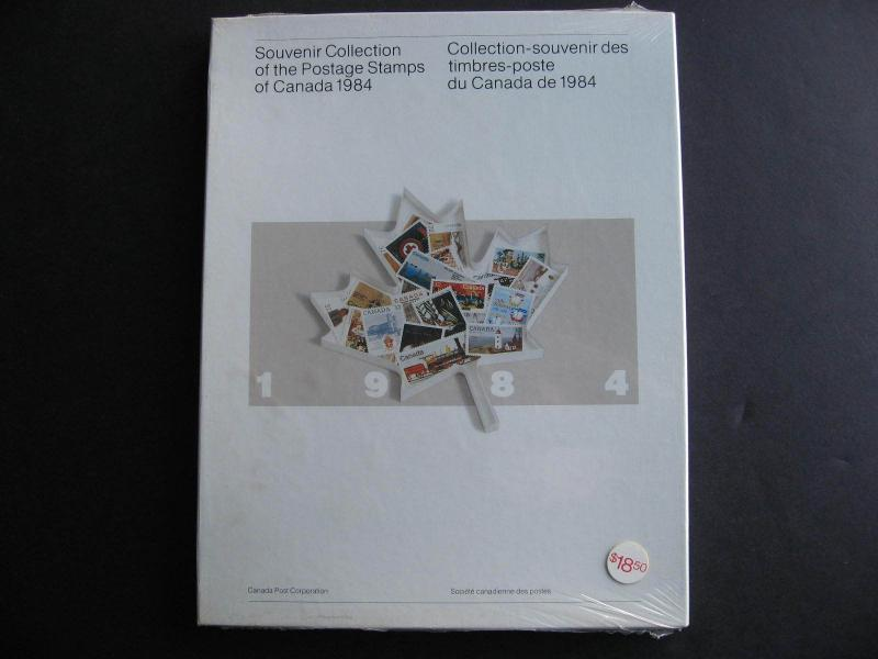 CANADA 1984 Annual Souvenir Collection, still unopened and sealed as issued!
