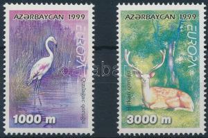Azerbaijan stamp National Parks set MNH 1999 Mi 442-443 Animals WS231172
