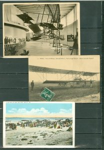 AVIATION HISTORY...LOT of (5) ITEMS...PO CARDS & PICTURE...VERY NICE