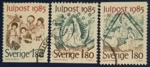 Sweden # 1558, 1560 & 1561 Used