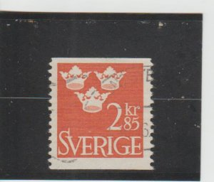 Sweden  Scott#  663  Used  (1965 Three Crowns)